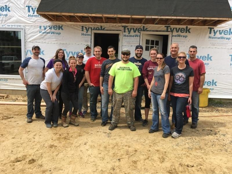 Bowman Employees Spend a Day with Habitat for Humanity