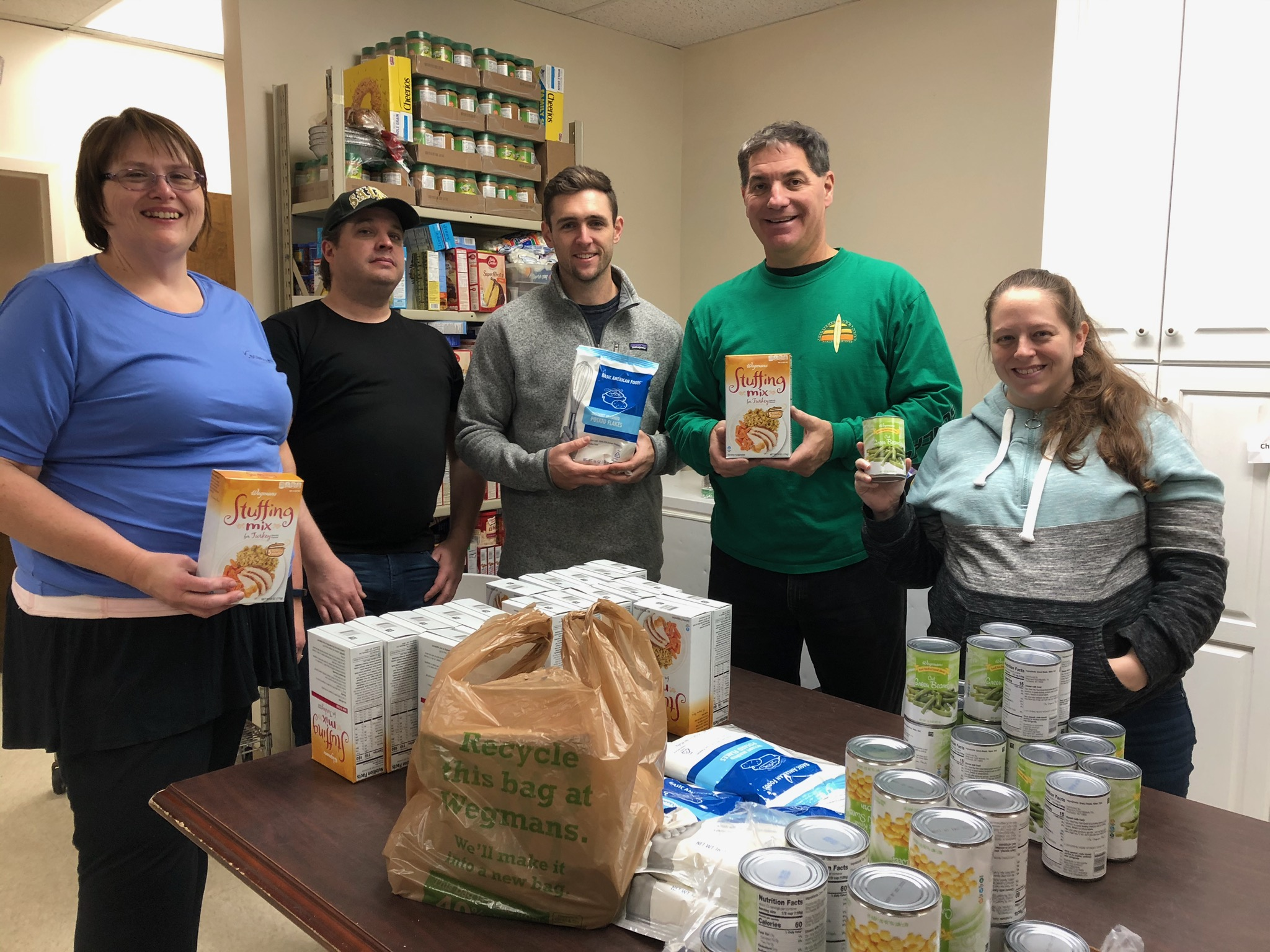 Bowman at the Oaks Integrated Care Thanksgiving Food Drive